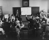 Slide Show in Class, 1955