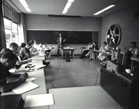 Classroom 16mm Film in a Small Room, 1956